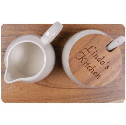 Cream & Sugar Bowl