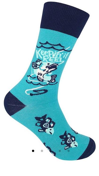 Keepin it Reel Socks