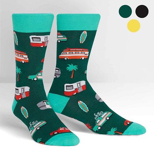 Camper Crew Socks