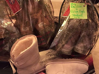 UGG Donation's to High School