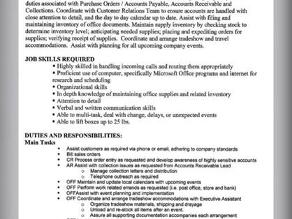 Job Offer Starting @$12.00 in Watsonville