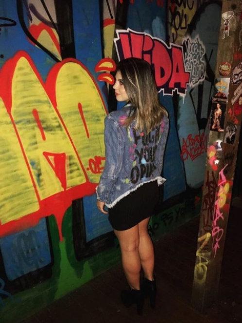 Jaqueta Jeans Personalizada