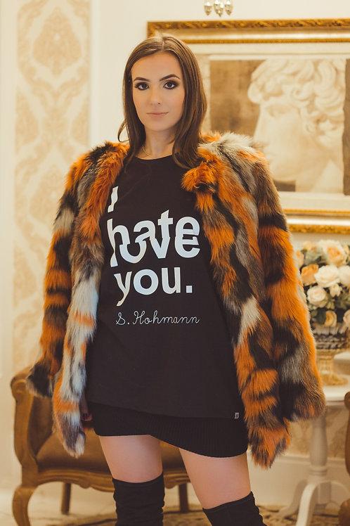 CAMISETA I HATE/LOVE YOU