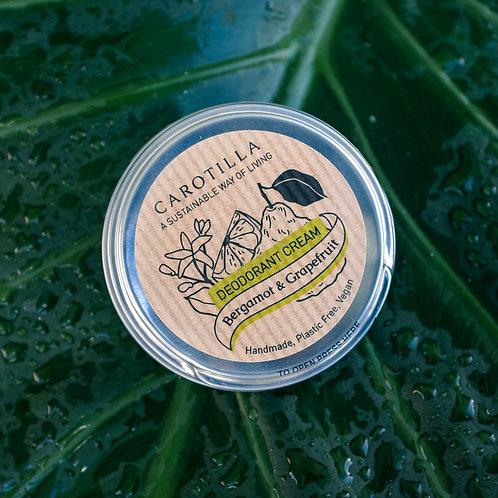 Deodorante in Crema al Bergamotto e Pompelmo