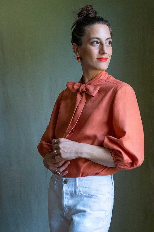 Peachy / Camicia sartoriale in puro lino