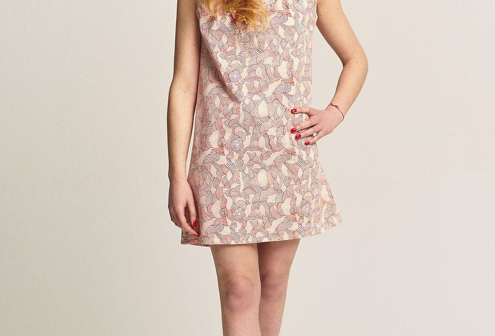 Mini Dress - Red