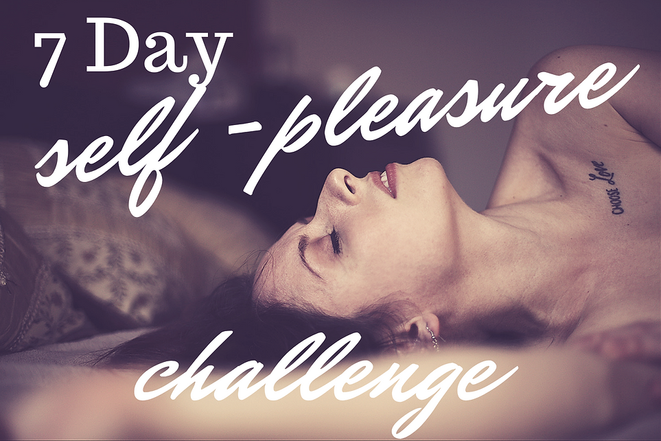 Self Pleasure Challenge Final