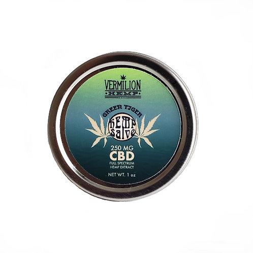 Green Tiger | CBD Hemp Salve | 250 MG