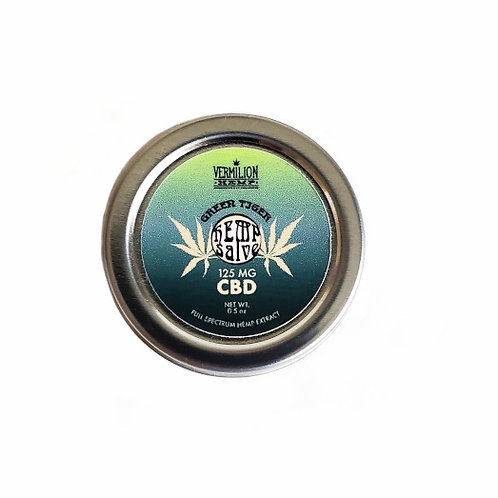 Green Tiger | CBD Hemp Salve | 125 MG
