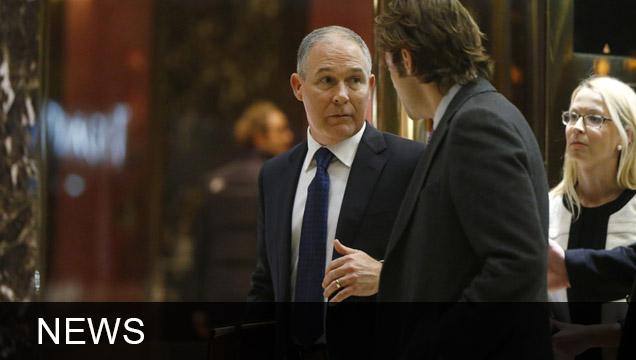 Trump's EPA Pick