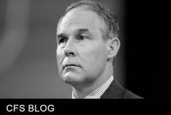 Climate Change Denier Scott Pruitt t