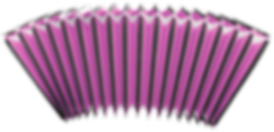 Bellows for accordions purple customizing