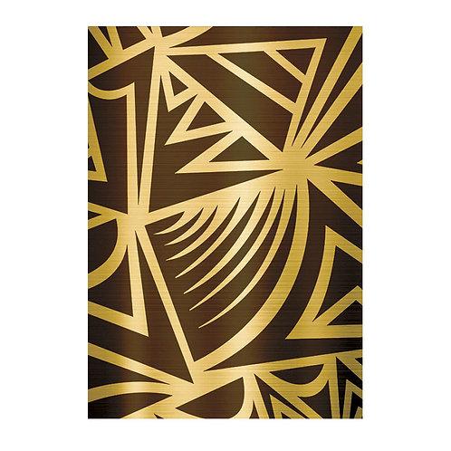Zebra / Gold