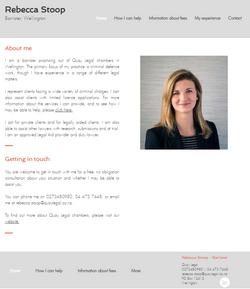 Rebecca Stoop Defence Lawyer