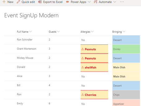 Modern SharePoint Lists with Pizzazz!