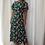 Thumbnail: Zoe Angel Sleeve Split Leg Midi Dress