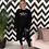Thumbnail: Harper Crochet Cardigan in Black