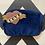 Thumbnail: Navy Velvet Bag with Love Brooch