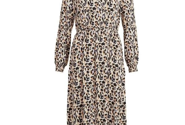 Vilana Long Sleeve Midi Dress
