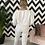 Thumbnail: Star Print Loungewear Set in Ecru