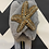 Thumbnail: Grey Fluffy Slippers With Starfish Brooch