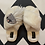 Thumbnail: Laines's London Cream Fluffy Slippers with Jellyfish Brooch