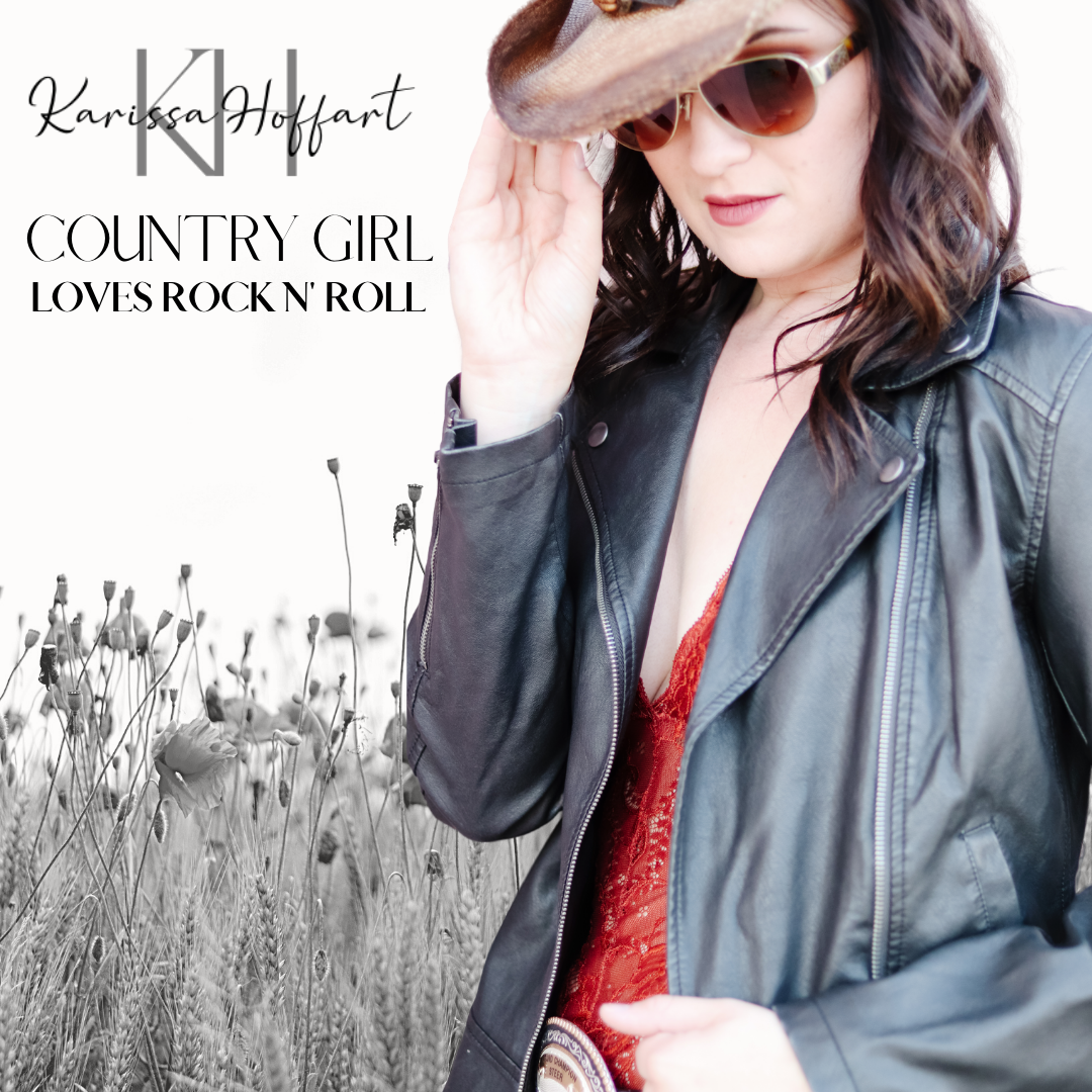 Country Girl Loves Rock N' Roll Cover.pn