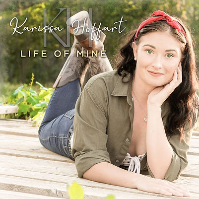 Karissa Hoffart Life of Mine Album Cover