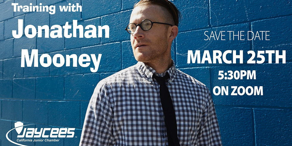 A Training with Jonathan Mooney - March 25