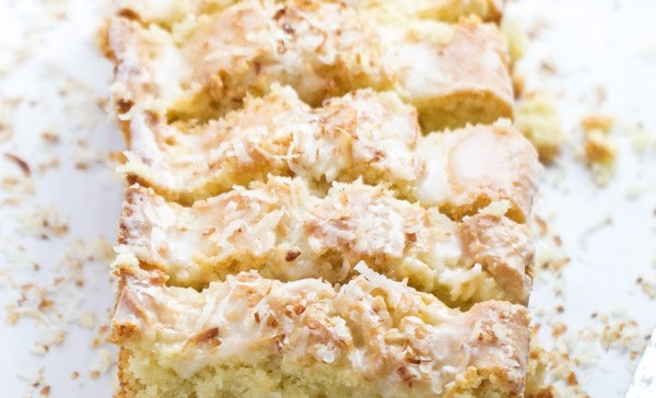 Coconut loaf cake