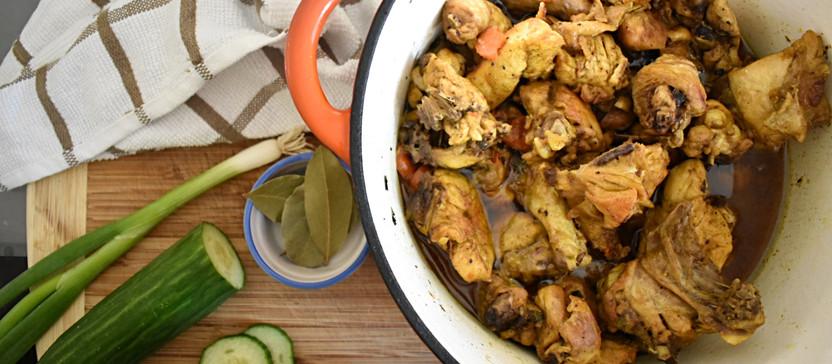 RECIPE: Curry Chicken & Dumplings