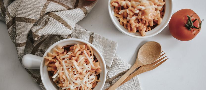 RECIPE: Baked Shrimp Pasta
