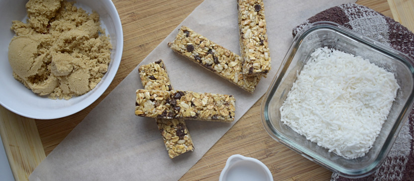 Easy No NUT Granola Bars