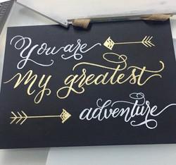 Adventure Wedding Sign