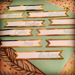 Name Card Calligraphy