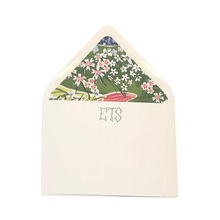 Monogram Japanese Floral Stationery.jpg