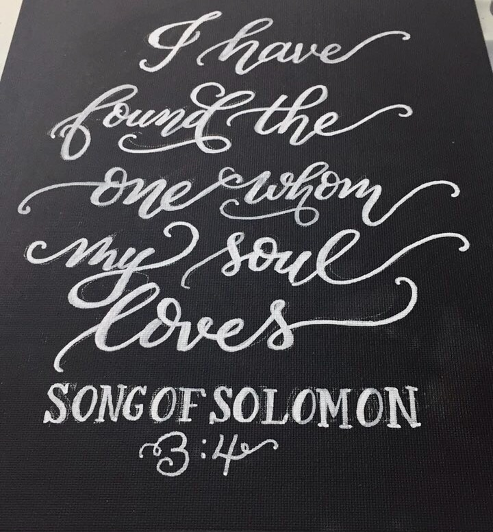 Scripture Wedding Sign