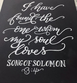 Wedding Calligraphy Quote Sign