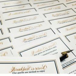 Custom Event Cards