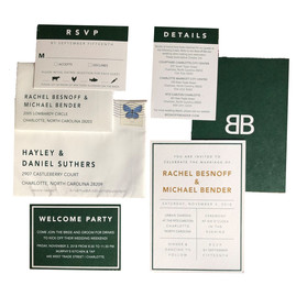 Modern Green Invitation