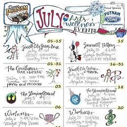 JULY - Arts & Wellness