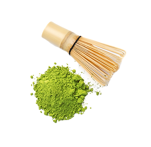 Powdered%20matcha%20tea%20and%20chasen%2
