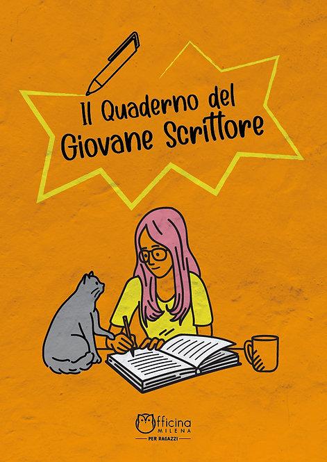 Il quaderno del giovane scrittore (copertina arancione)