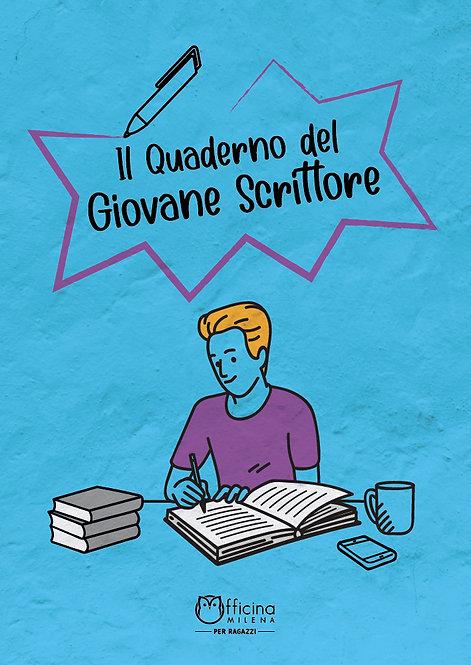 Il quaderno del giovane scrittore (copertina celeste)