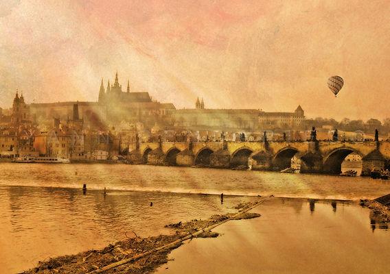série photographie artistique paysages de nature en Europe, Prague Pont Charles
