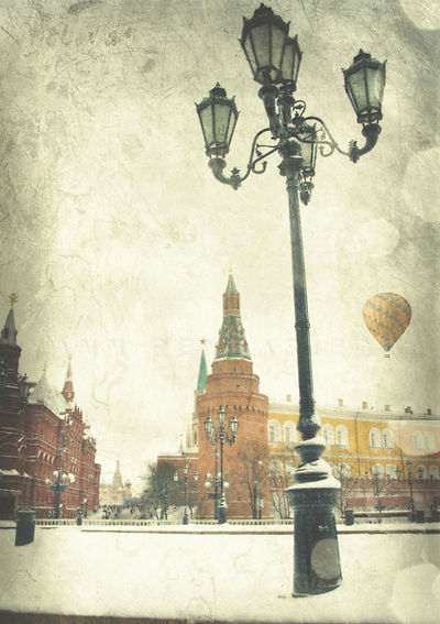 série photographie artistique paysages de nature en Europe, Moscou, la Place Rouge, Kremlin