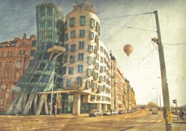 Jour 44 Prague La maison qui danse