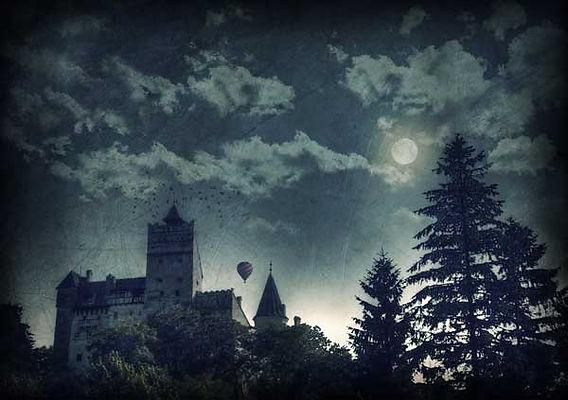 série photographie artistique paysages de nature en Europe, paysage de Transylvanie et du château de Dracula en Roumanie