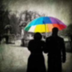 série photographie artistique paysages urbains, Le parapluie