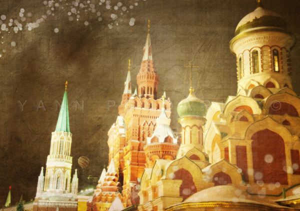 Jour 38 MoscouL'église